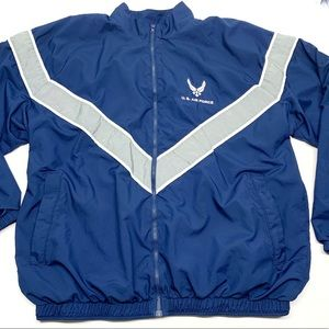 • US AIR FORCE Windbreaker Jacket with Logo K34